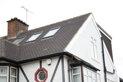 Cladding for attic conversions